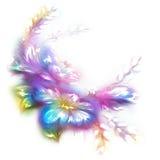 Flor bonita do vetor no fundo branco Imagem de Stock Royalty Free