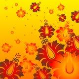 Flor caliente ilustración del vector