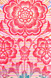 Flor chinesa do fundo do rmb do dinheiro Imagem de Stock