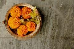 Flor cinco decorativa Imagens de Stock Royalty Free
