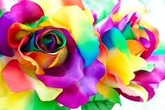 Flor color de rosa de la falsificación Fotos de archivo