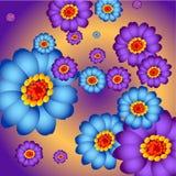 Flor colorida Imagens de Stock