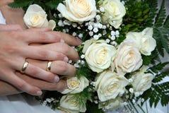 Flor com anéis Foto de Stock Royalty Free