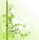 Flor com cor verde bonita Imagens de Stock