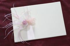 Flor con la cinta Imagen de archivo libre de regalías