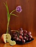 Flor con las frutas Imagen de archivo libre de regalías