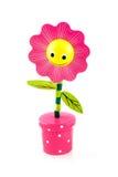 Flor cor-de-rosa engraçada fotos de stock royalty free