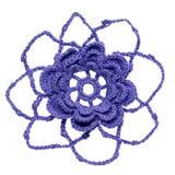 Flor Crocheted imagen de archivo