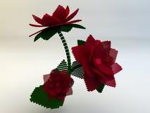 flor 3d Imagen de archivo libre de regalías