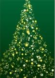 Flor da árvore de Natal Fotos de Stock Royalty Free