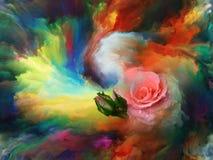 Flor da cor ilustração do vetor