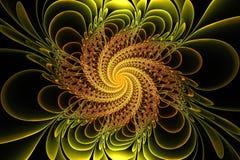 Flor da fantasia do Fractal Fotos de Stock