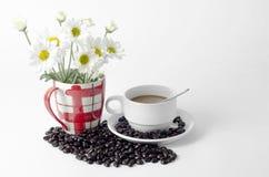 Flor da padaria do café Imagens de Stock