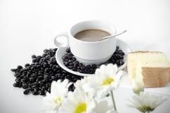 Flor da padaria do café Imagem de Stock