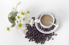 Flor da padaria do café Fotos de Stock Royalty Free