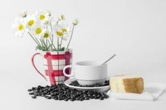 Flor da padaria do café Fotos de Stock