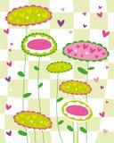 Flor da textura ilustração royalty free