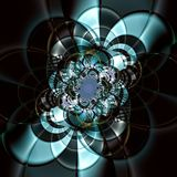 Flor de alta tecnología Imagenes de archivo