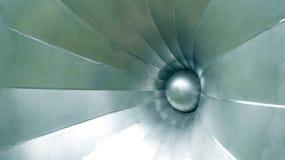 Flor de alumínio Foto de Stock