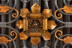 Flor de bronce Imágenes de archivo libres de regalías