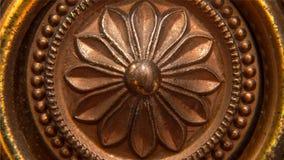 Flor de bronze foto de stock royalty free