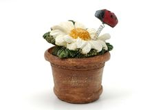 Flor de cerámica fotos de archivo