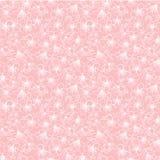 A flor de cerejeira pequena sakura do rosa do vetor floresce a textura sem emenda do fundo do teste padrão ilustração stock