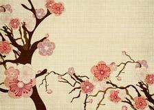 Flor de cereza stock de ilustración
