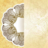Flor de corte de papel Foto de archivo