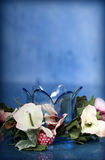 Flor de cristal Fotos de archivo