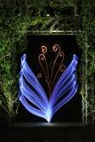 Flor de Digitaces hecha en naturaleza artificial Fotos de archivo