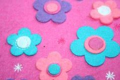 Flor de feltro Foto de Stock Royalty Free