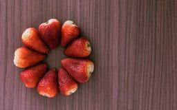 Flor de fresas Imagen de archivo