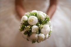 Flor de la boda de la novia Fotografía de archivo libre de regalías