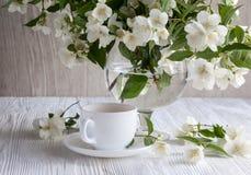 Flor de la fragancia del jazmín Fotos de archivo