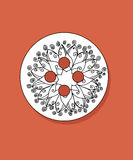 Flor de la mandala Imagenes de archivo