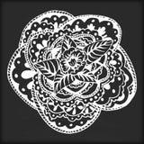 Flor de la mandala Fotografía de archivo libre de regalías