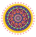 Flor de la mandala Imagen de archivo