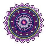 Flor de la mandala Imagen de archivo libre de regalías
