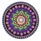 Flor de la mandala Imágenes de archivo libres de regalías