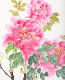 Flor de la peonía ilustración del vector