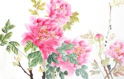 Flor de la peonía Foto de archivo
