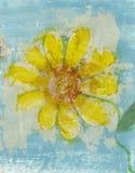 Flor de la poesía Imagen de archivo libre de regalías