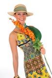 Flor de la ropa del verano de la mujer Foto de archivo