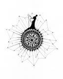 Flor de la separación stock de ilustración