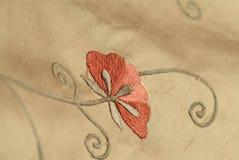 Flor de la tela Imagen de archivo
