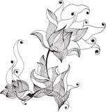Flor de Lilie stock de ilustración