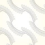 Flor de lis contemporânea sem emenda Ilustração Stock