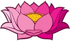 Flor De Loto Ilustración Del Vector Ilustración De Floral 23748096