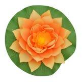 Flor de loto plástica Foto de archivo libre de regalías
